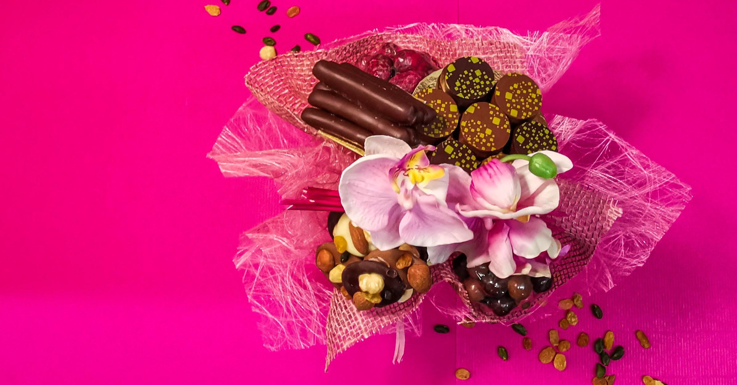 Flamboyant, une création gourmande chocolatée