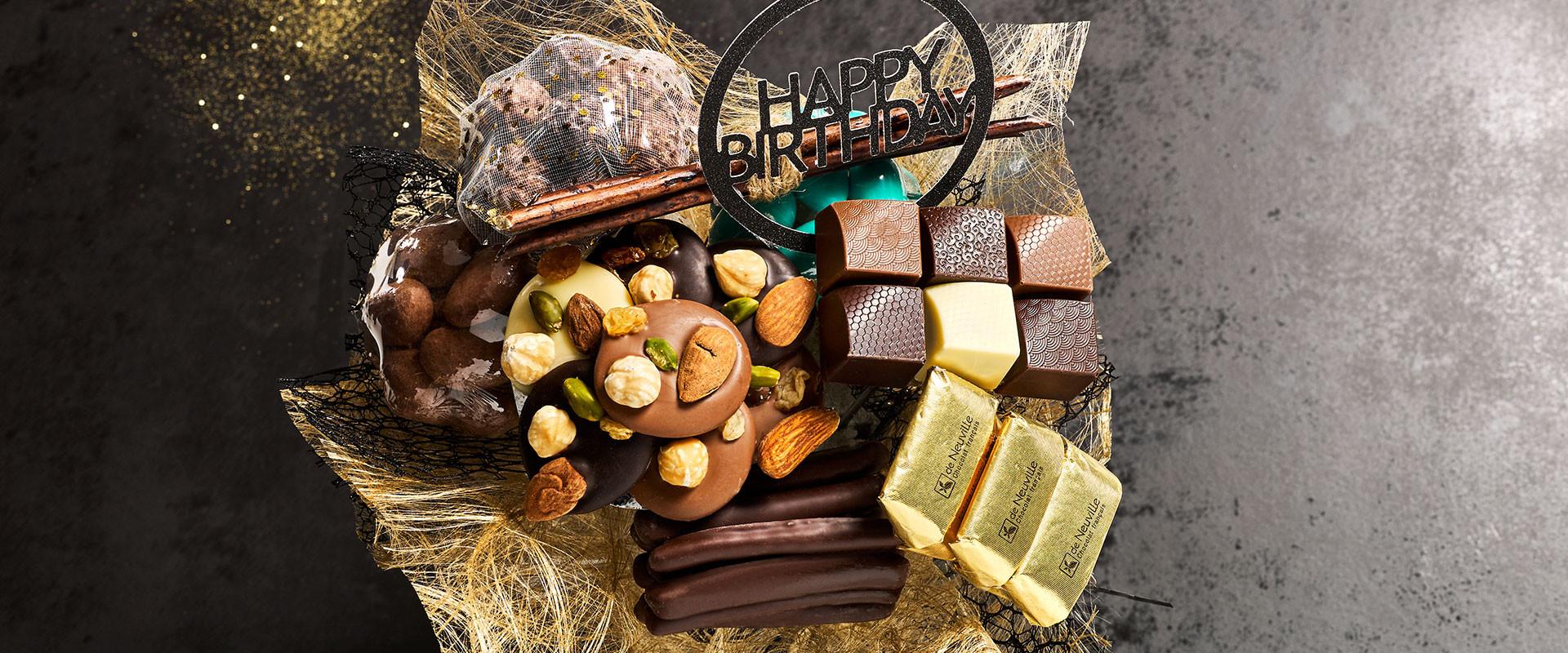 Trop facile ! Le cadeau anniversaire en chocolat !